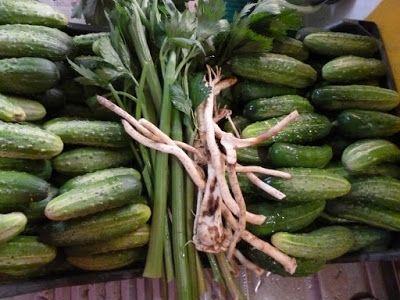 Din gradina,: Salata de castraveti-dovlecei in saramura