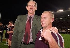Two great men of Rugby League - Wayne Bennett and Allan Langer