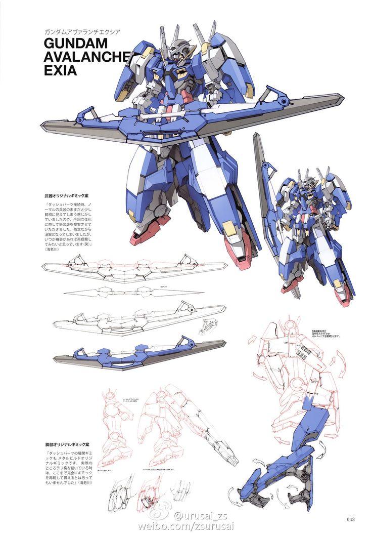 GUNDAM GUY: Kanetake Ebikawa Design Works [Book] - Image Gallery