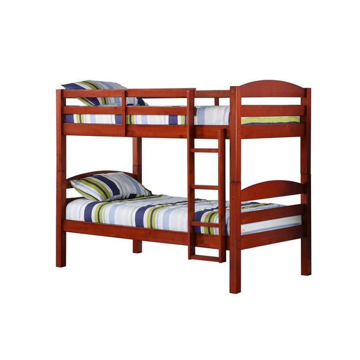 1000 ideas about solid wood bunk beds on pinterest for Unfinished loft bed
