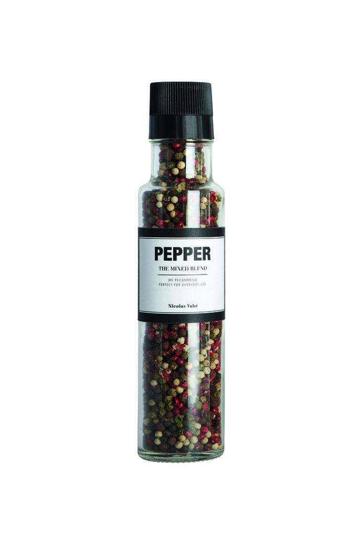 Sort Pepper