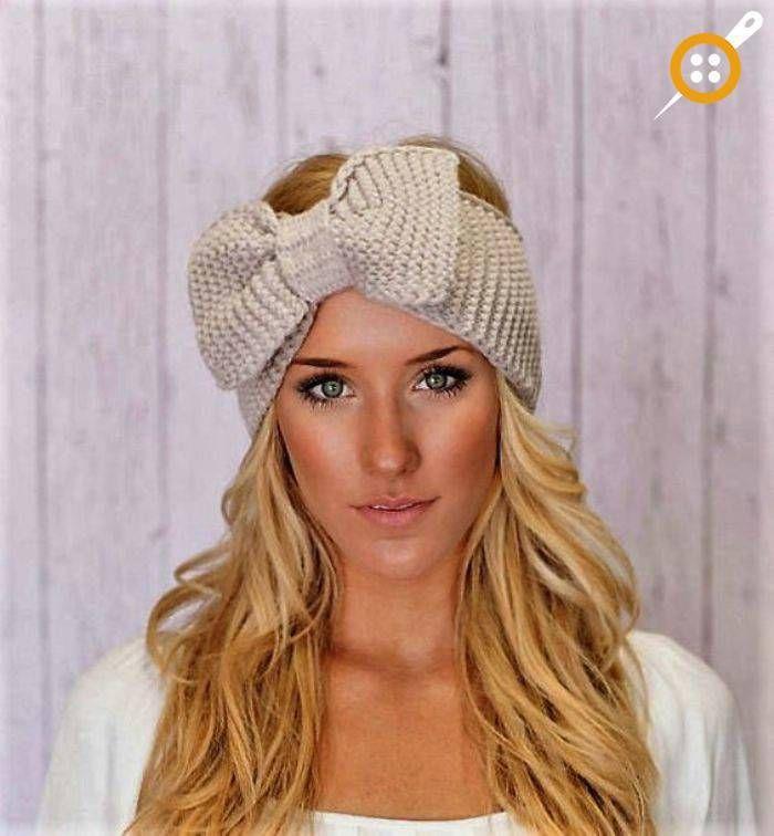 118 best Örgü bandana images on Pinterest   Beanies, Knit headband ...