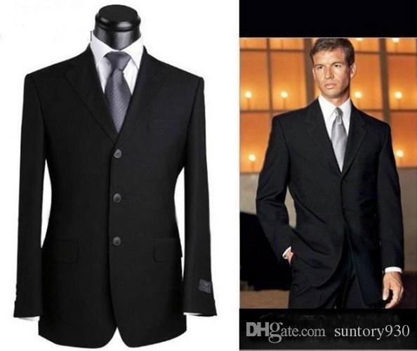New Fashion Designer Celebrity Men Black V-neck Blazers Suits High Quality Mens Business Suits for Men 2013