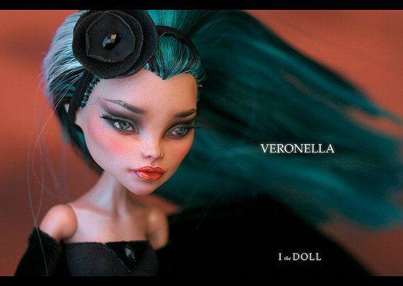 Monster High Repaint Art Doll OOAK Nefera de Nile by ItheDoll