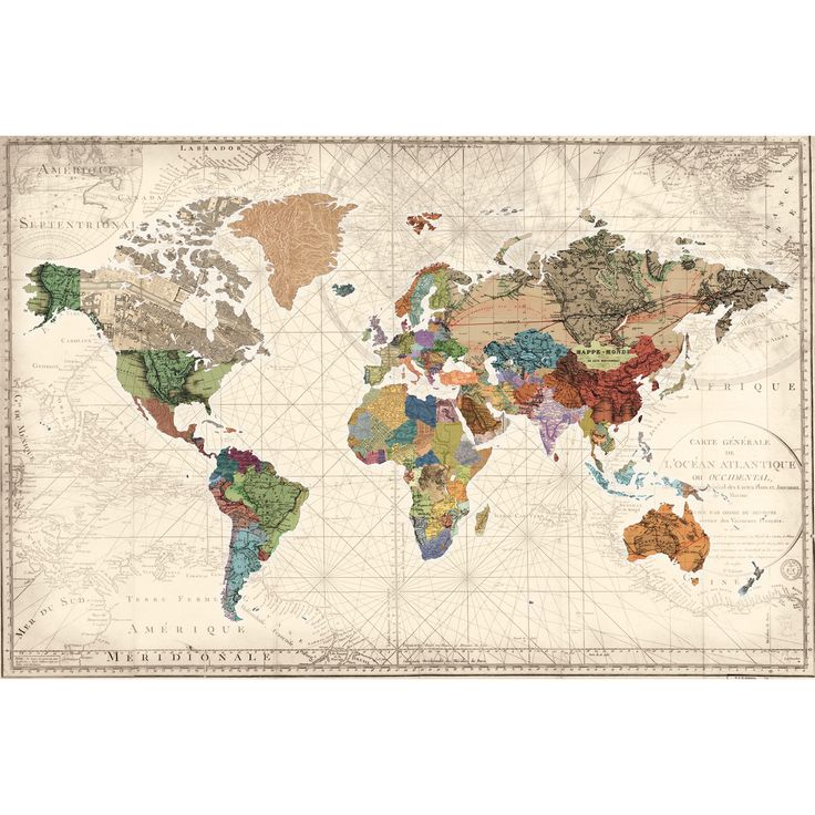 Amazing site for chic cheap prints great for apartment decor - best of world map fabric etsy