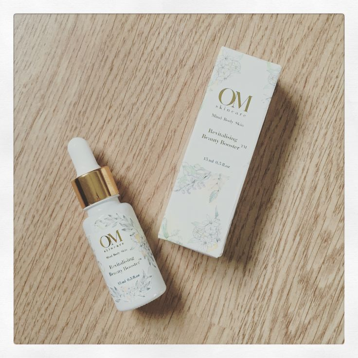 The innovative OM Skincare Revitalising Beauty Booster can be mixed with your existing moisturiser or used on its own as an intense skincare treatment.