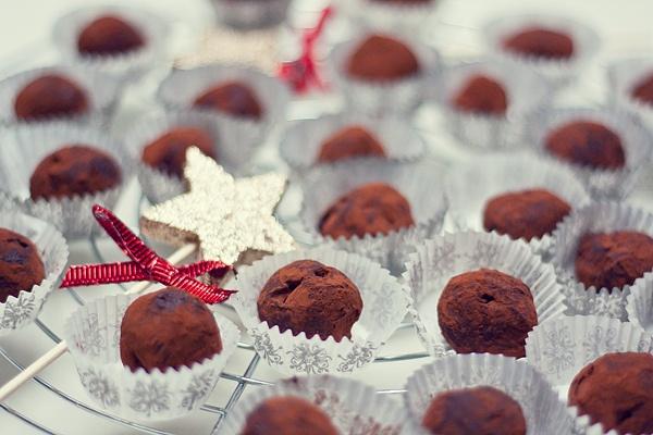Čokoládové truffles ❄