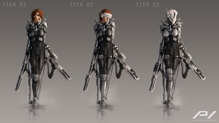 Tactical Suit Concept by JoanPiqueLlorens on DeviantArt