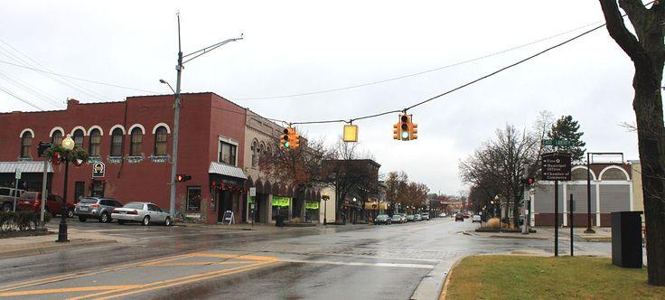 Milford Michigan central business district - Milford, Michigan - Wikipedia