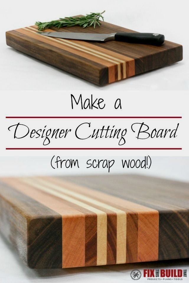 Woodworking Project Kit To Make Bistro Cutting Board Woodcraft Kits