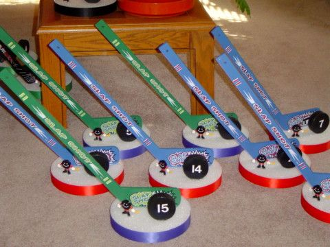 Custom Sports Theme BarBat Mitzvah CenterpiecesDecorations