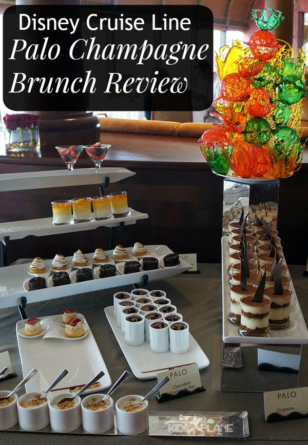 Palo Champagne Brunch Review - Is this adult-only meal, on a Disney cruise, worth the money? | #KidsOnAPlane #PaloChampagneBrunch #DisneyCruiseLine #DisneyReview #TravelTips #TravelReviews #AdultsOnlyBrunch