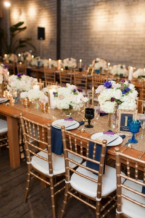 Navy And Gold Wedding Theme Ideas See More At White Mischief Bridal