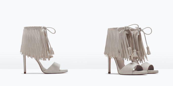 ZARA Nueva Colección de Zapatos Primavera Verano 2015