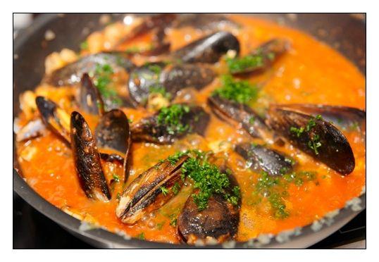 Chilli Mussels #SAHM #foodanddrink #seafood