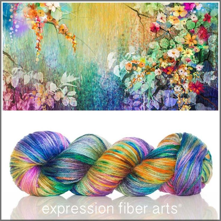 BOTANICAL - whoaaaa... such a STUNNING mix of splattered shades - hot pink and magenta, purple and blue, vivid yellow, orange, gray, green, teal... ahhh!! - Alpaca Silk Dk yarn by expression fiber arts