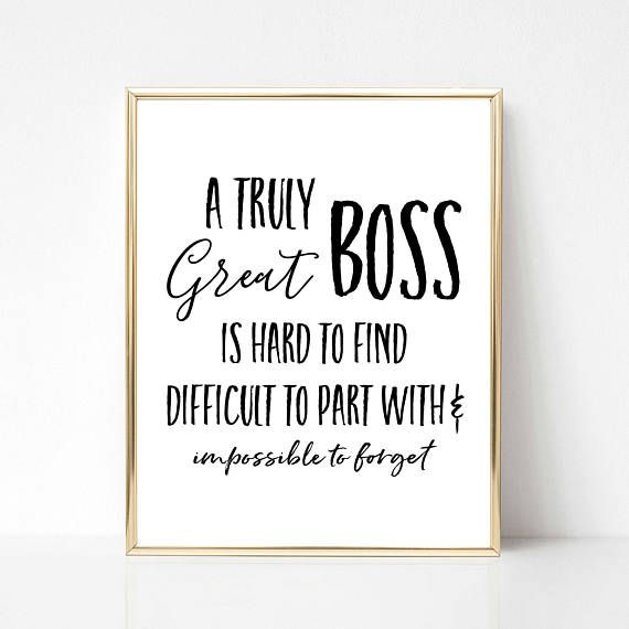 Custom Boss Gift Boss Quote Gift Gift for Boss Boss