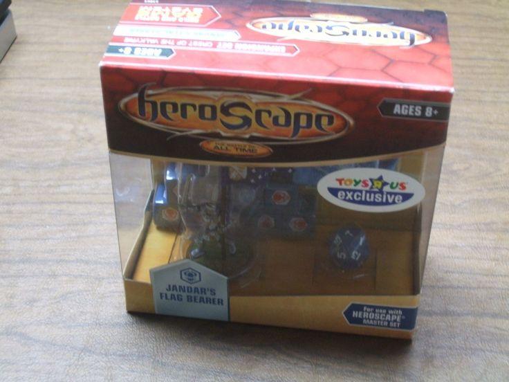 Heroscape 158715: Heroscape Crest Of The Valkyrie Jandar S Flag Bearer Sir Gilbert Nib Toys R Us -> BUY IT NOW ONLY: $50 on eBay!