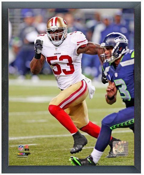 "NaVorro Bowman 2013 SF 49ers - 11"" x 14"" Photo in a Glassless Sports Frame"