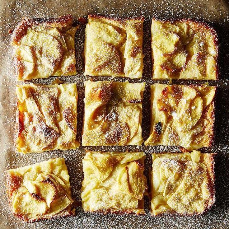 Dorie Greenspan's Custardy Apple Squares recipe on Food52
