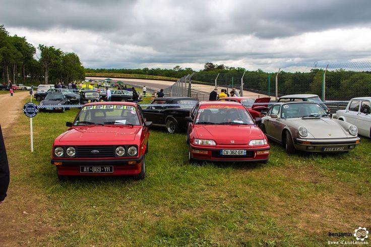 #Ford #Escort, #Honda #Civic et #Porsche #911 au Grand Prix de l'Age d'Or. #MoteuràSouvenirs Reportage complet : http://newsdanciennes.com/2016/06/06/jolis-plateaux-beau-succes-grand-prix-de-lage-dor-2016/ #ClassicCar #VintageCar