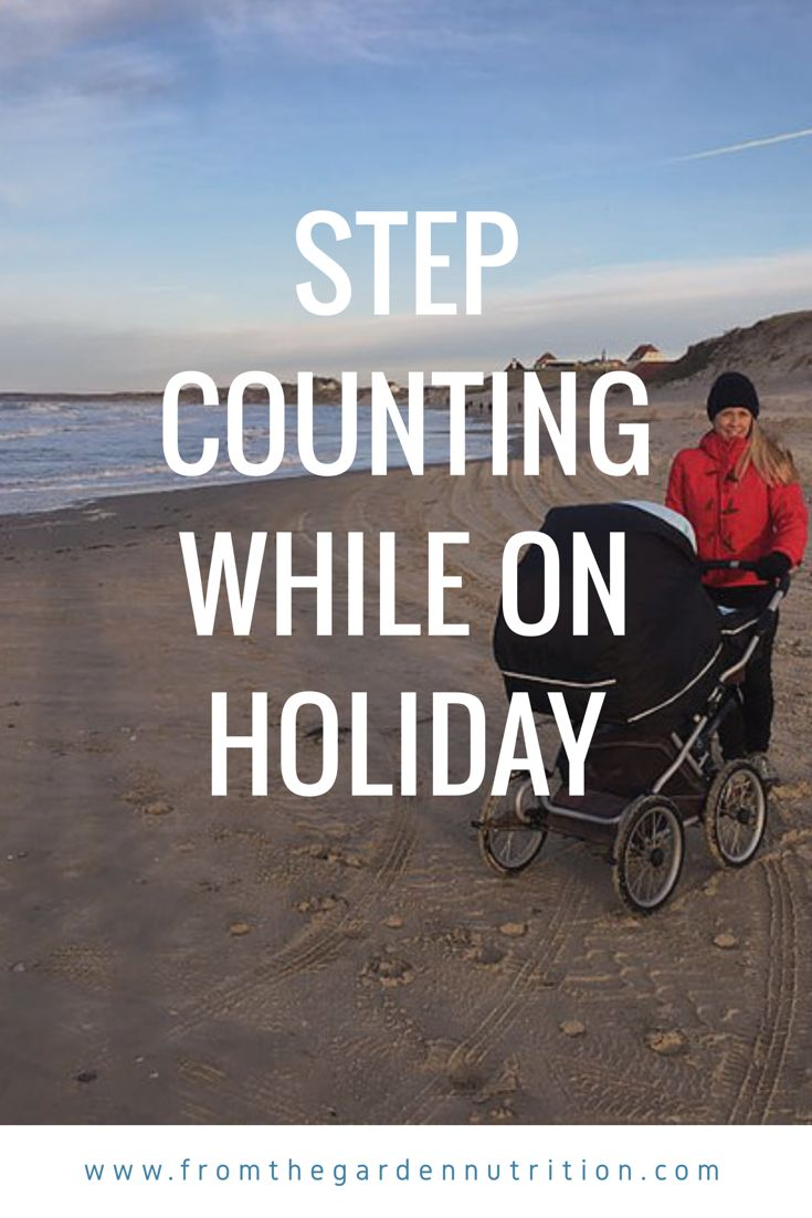 How to reach your 10.000 steps while on holiday. #stepcounting #10.000steps #holiday #healthyliving