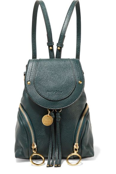 d74fab8d4662 Emerald textured-leather (Cow) Snap-fastening front flap Designer color   Eclipse Comes with dust bag Weighs approximately 1.8lbs  0.8kg Imported