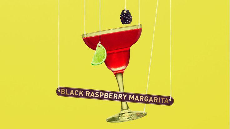 Raspberry Margaita ¾ oz Chambord liqueur 1½ oz Tequila Herradura ¾ oz pomegranate juice ½ oz lime juice Raspberry and/or lime to garnish