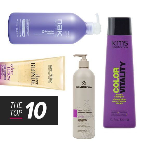 The Top 10 Toning Shampoos For Blonde Hair