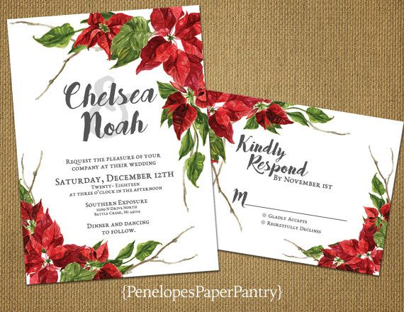Christmas Wedding Invites: 25+ Best Ideas About Christmas Wedding Invitations On