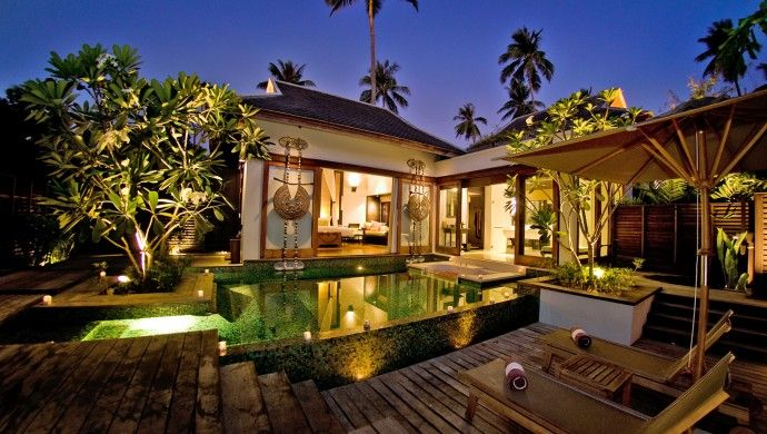 Anantara Phuket Villas: All of the resort's 83 villas have private pools. Spent a week here!