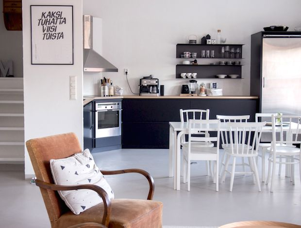 my scandinavian home: A Finnish home in a converted factory