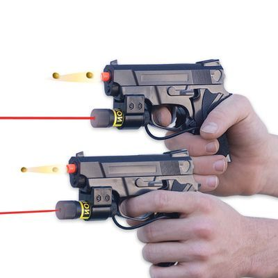 how to make a laser pistol