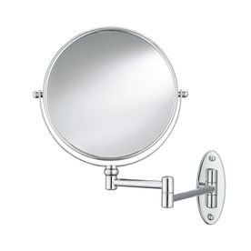 Conair�Mirrors Metallic Metal and Glass Wall-Mounted Vanity Mirror