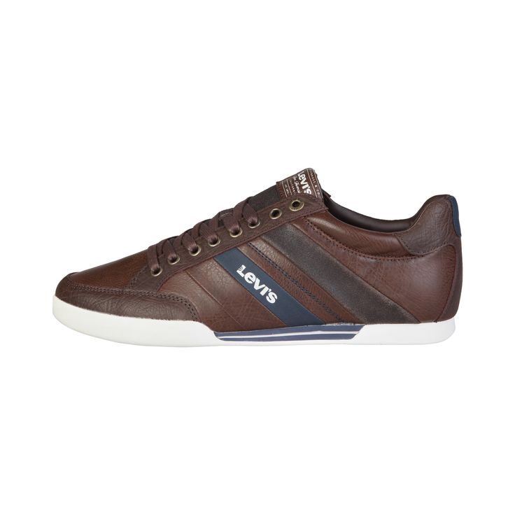 Run your Elegance 365 days a year! Elegance is a mindset Dorian Brown - Levis - High comfort brown leather Sneakers for Men - Runit365 your Elegant Men Store  #tie #shoes #leather #classy #belt