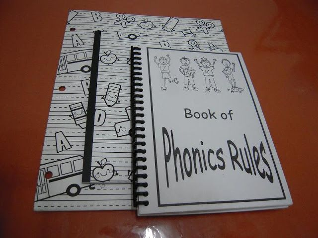All That's Goood: This Years Curriculum: Phonics Rule Book