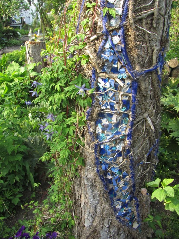 mosaik in tree