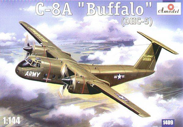 de Havilland Canada C-8A Caribou. A Model, 1/144, injection, No.1409. Price: 12,59 GBP.