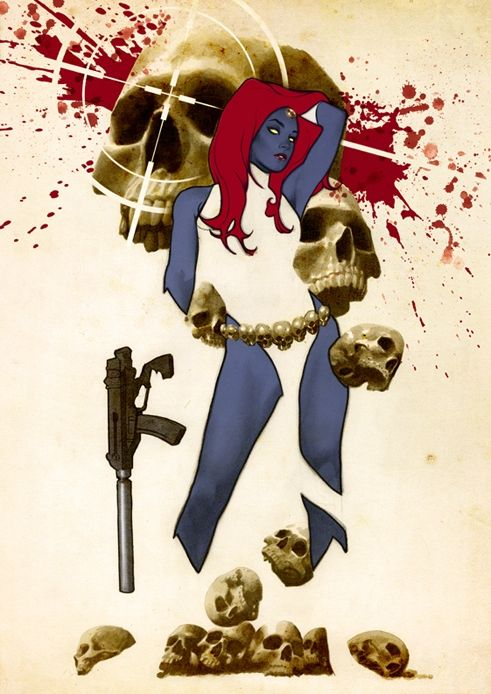 Mystique by Adam Hughes
