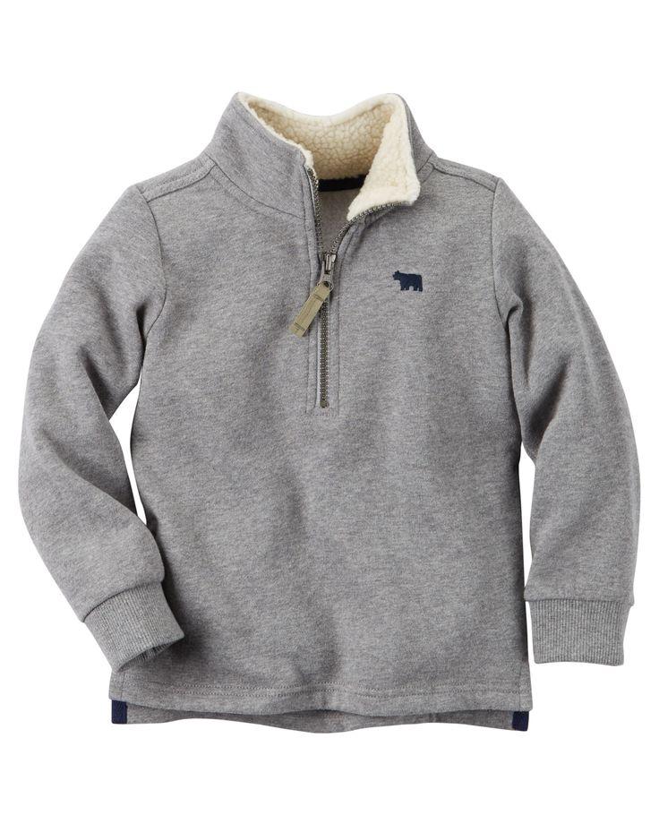 Toddler Boy Half-Zip Pullover | Carters.com