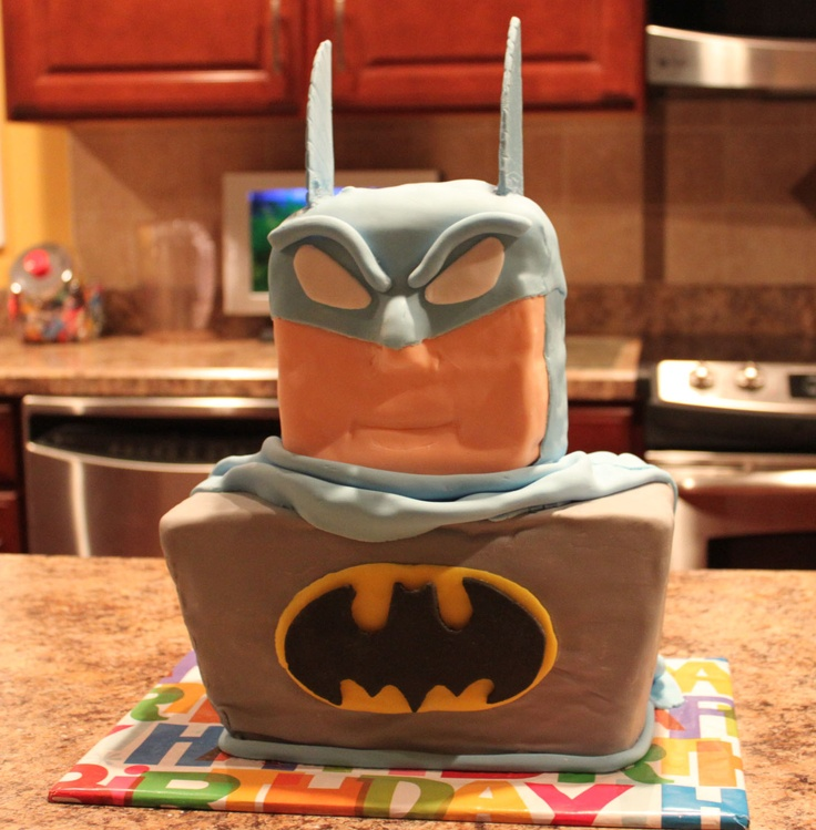 17 Best Images About Batman Cakes On Pinterest Birthdays