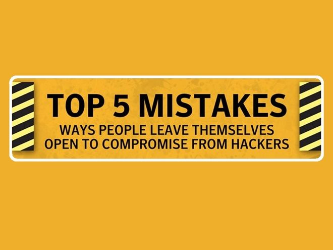 5 Common Computer Security Mistakes [Infographic] - http://socialbarrel.com/5-common-computer-security-mistakes-infographic/51590/