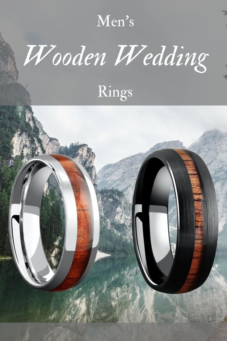 These Mens Wooden Wedding Rings Truly Make A Unique Mens Wedding