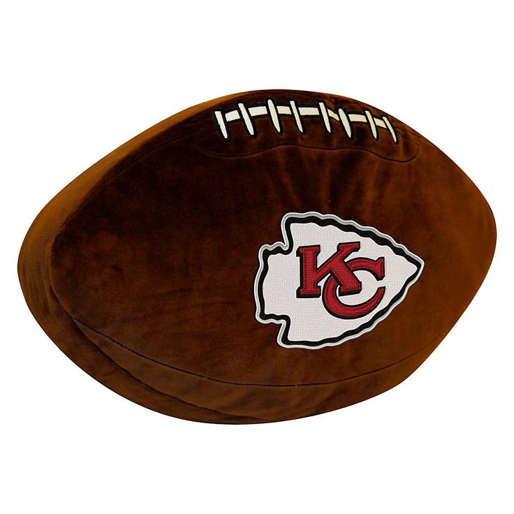 Officially Licensed NFL Chiefs 3D Sports Pillow
