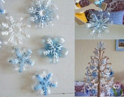 christmas craft from plastic bottle new year christmas