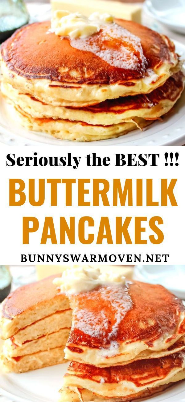 The Best Buttermilk Pancakes You Ll Ever Try Promise This Easy To Follow Pancake Homemade Buttermilk Pancakes Buttermilk Recipes Pancake Recipe Buttermilk
