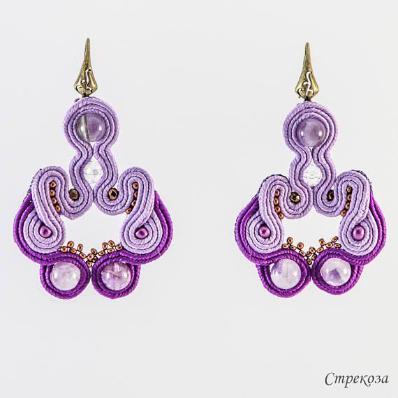 Earrings Fata Morgana    handmade with  a