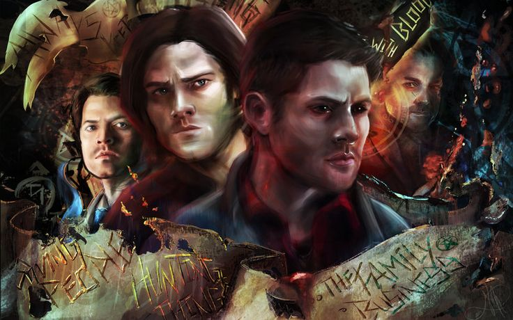 SPN Wallpaper Version (HT#001) by nma-art.deviantart.com on @DeviantArt