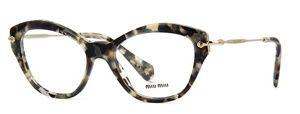 Óculos de grau Miu Miu 02OV Havana Perolado