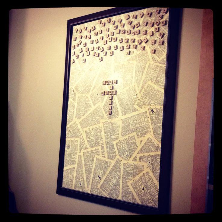 Scrabble board!